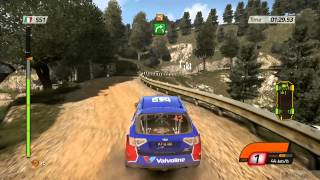 WRC 4 FIA World Rally Championship PC Gameplay HD 720P   Rally Italy