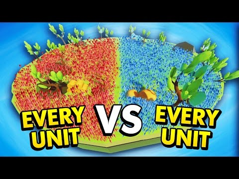 EVERY UNIT VS EVERY UNIT IN TABS! (Totally Accurate Battle Simulator Funny Gameplay)