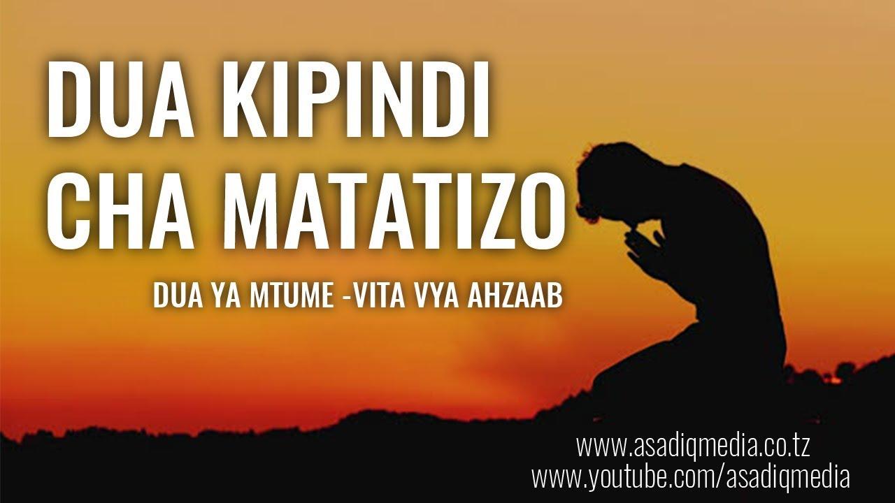 Download DUA KIPINDI CHA MATATIZO