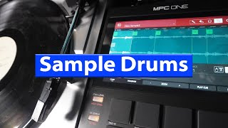 MPC ONE - Sampling Vinyl Drum Break And Making Kit