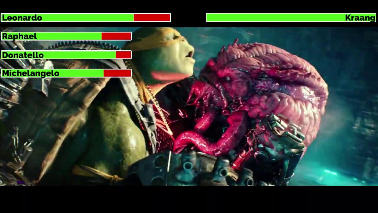 Download Teenage Mutant Ninja Turtles: Out of the Shadows (2016) Final Battle with healthbars
