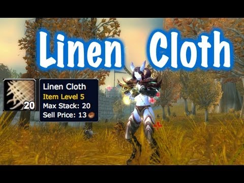 Linen Cloth Farm Guide (World of Warcraft)