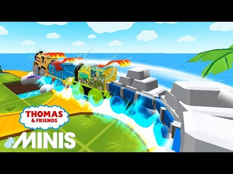 Thomas and Friends Minis Biggest Train Gameplay