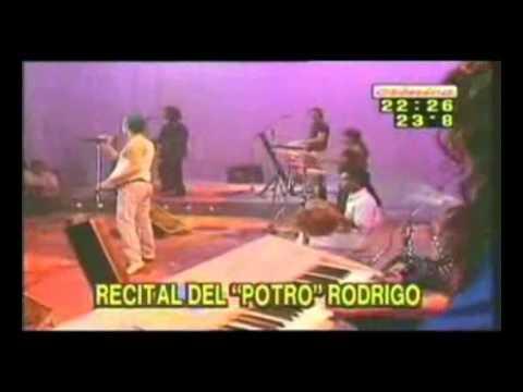 Rodrigo El Potro Recital En Cm Año 2000