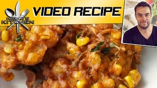 Corn Fritters - Video Recipe