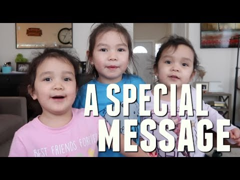 A SPECIAL MESSAGE FROM THE GIRLS- February 03, 2018 ItsJudysLife Vlogs
