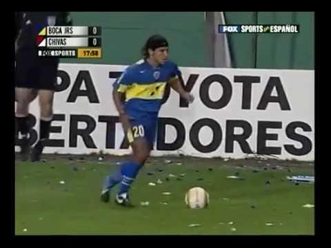 Boca Jrs vs Chivas Copa Libertadores 2005 4/Final vuelta Completo