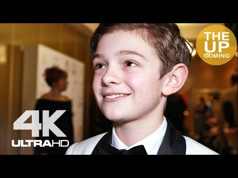 Noah Jupe interview on working on great films (Suburbicon, Holmes and Watson, Wonder), future career