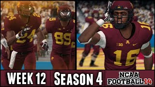 NCAA Football 14 Dynasty: Week 12 vs Notre Dame - (Season 4)