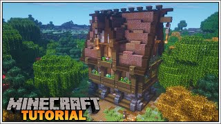 Minecraft Fantasy House Tutorial [How To Build] YouTube
