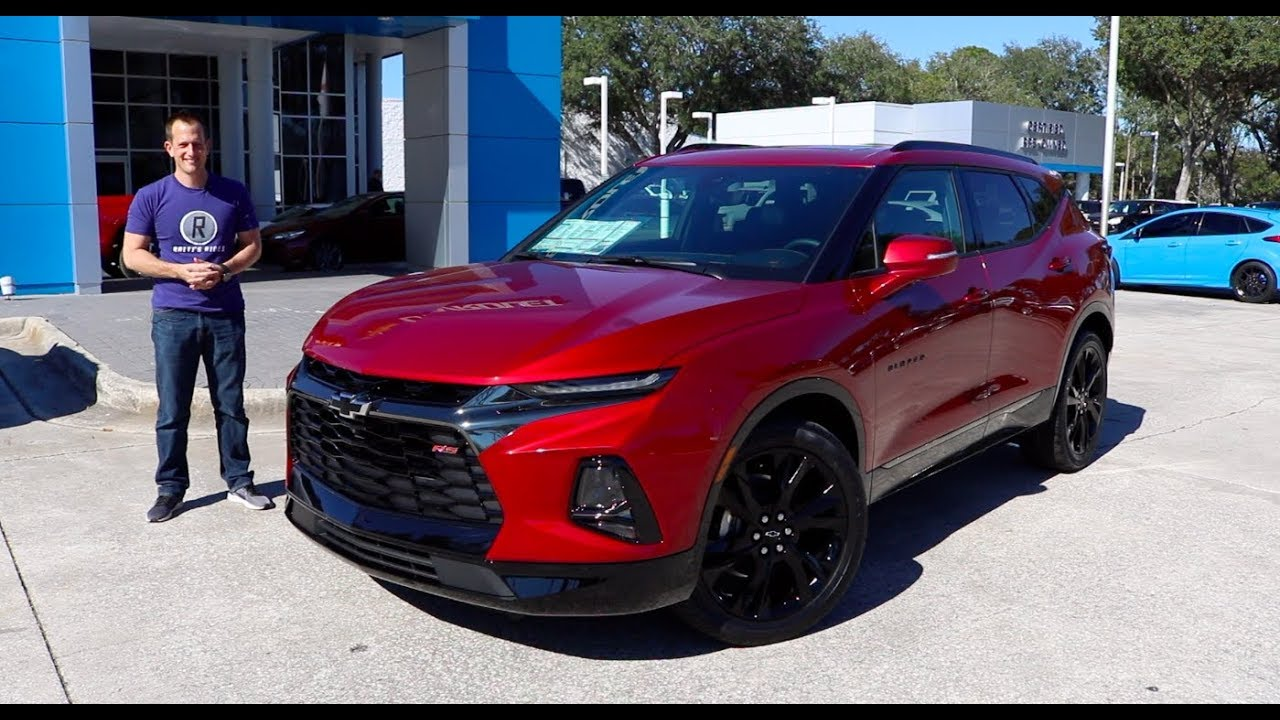 Is The 2019 Chevy Blazer Rs A Boom Or Bust Youtube
