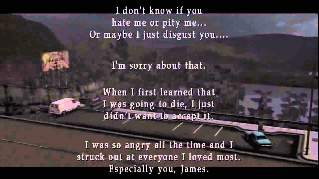 MaryS Letter To James Silent Hill  Ending  Youtube