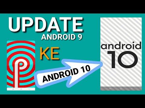 Cara Update Os Android 9 Ke Os Android 10