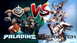 PALADINS X OVERWATCH - COMPARANDO HEROIS