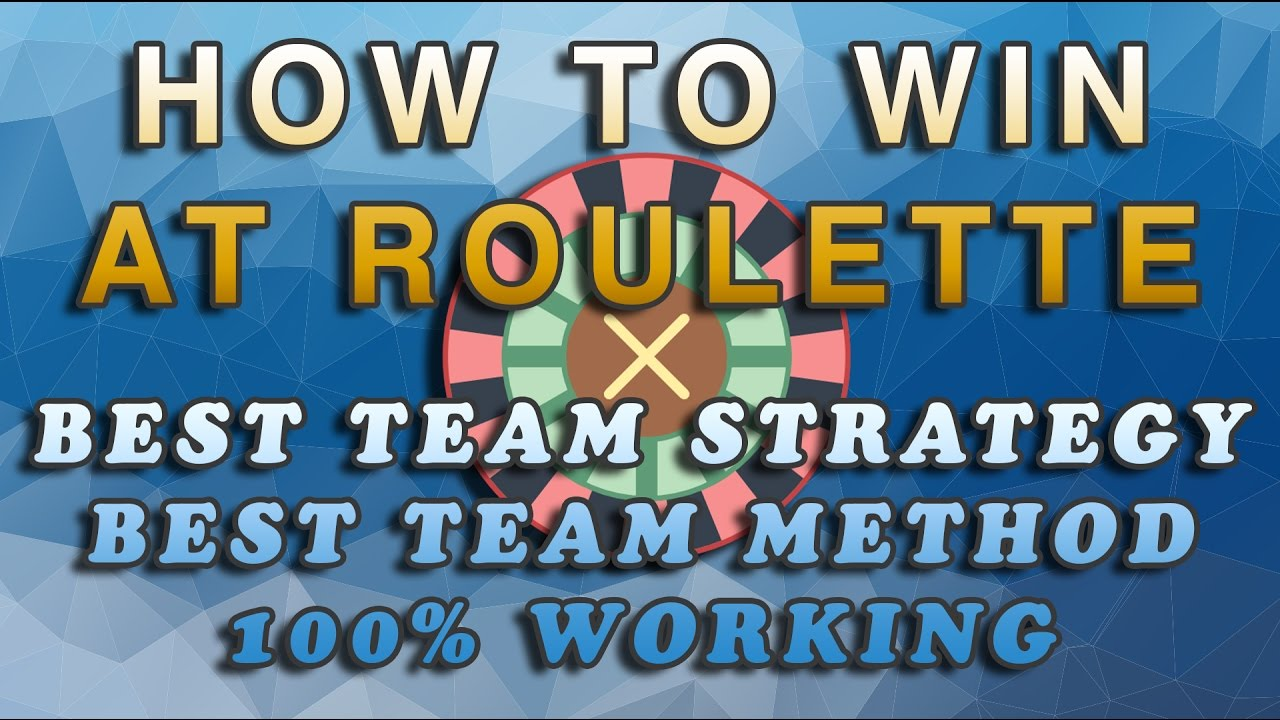 How To Win At Roulette • Demonstration video • Best ...