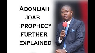 Apostle T.F Chiwenga:  Adonijah  Joab prophecy further explained