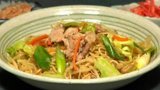 How to Make Yakisoba Noodles (Recipe)   Cooking with Dog