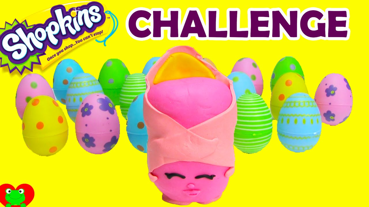 Shopkins Season 2 Challenge Surprise Eggs Without Names