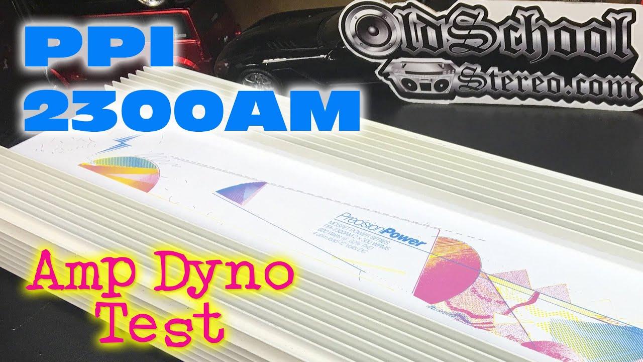 1991 precision power 2300am amp dyno test ppi art 1991 precision power 2300am amp dyno test ppi art