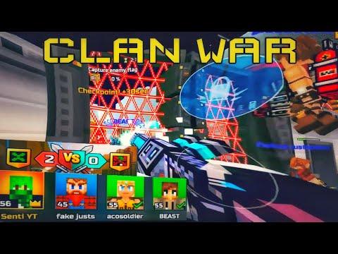 Pixel Gun 3D Clan Wars CVC Battles!