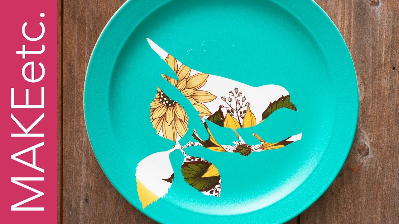 DIY Upcycled Vintage Plates - How to jazz up your old patterned ...