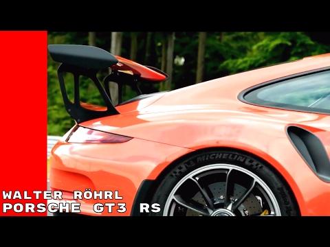 Porsche 911 GT3 RS With Walter Röhrl