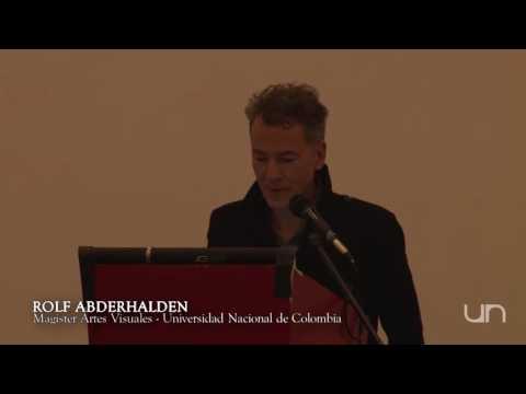 Ciclo de Conferencias de las Artes 2015 #7: Rolf Abderhalden, Magister en Artes Visuales
