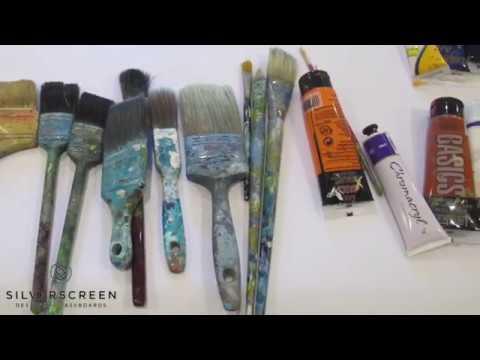 Silverscreen Glassboard experiment with artist Stephen Evans of Bondi Beach