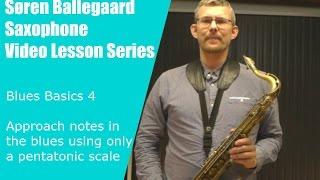 Blues basics 4   playing forward with pentatonics.