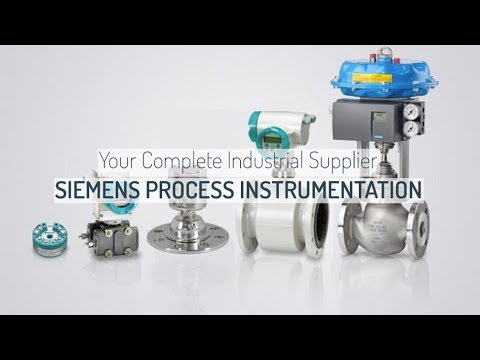 SIEMENS Process Instrumentation By Ives Equipment