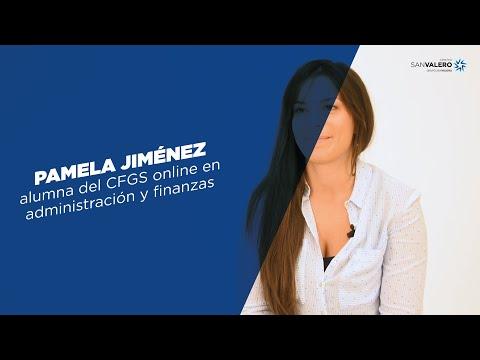Pamela Jiménez   CFGS En Administración Y Finanzas Online