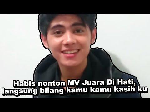 Aliando: Habis nonton MV Juara Di Hati,  langsung bilang kamu kamu kasih ku