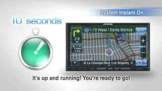 Alpine Electronics, Inc   alpine com   Product Info   GPS Navigation Receiver INA W900 North America model