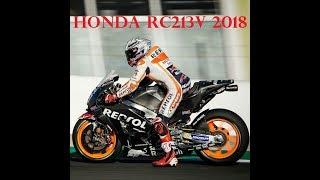 2018 Honda RC213V New Fairing Marc Marques