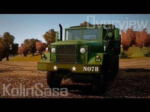 Basic military truck AM General M35A2 1950