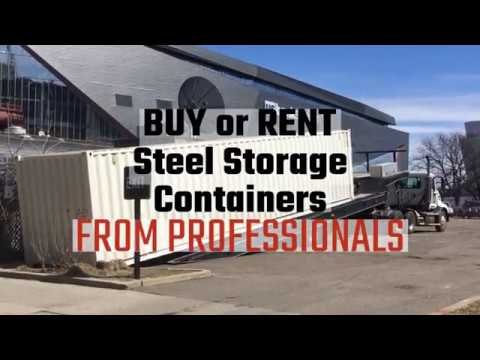 Western Container Sales Buy or Rent Steel Storage Containers From