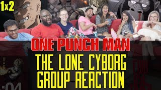 One Punch Man - 1x2 The Lone Cyborg - Group Reaction