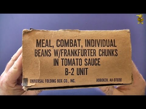 Vintage MCI Review - Beans with Frankfurters in Tomato Sauce (1975)