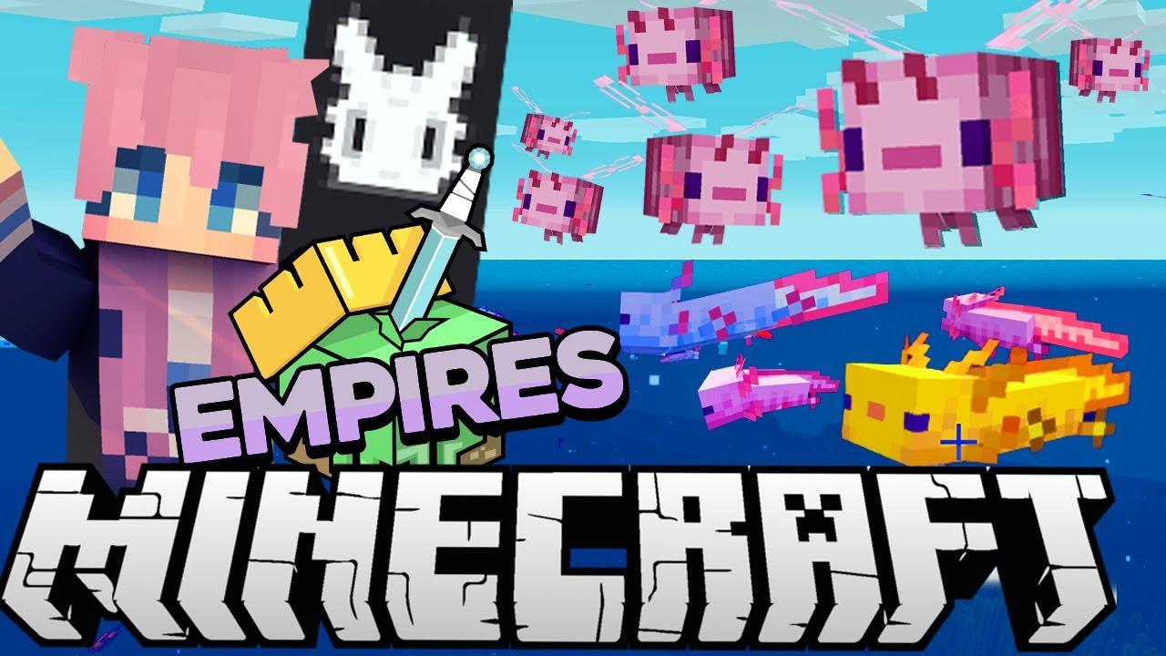 Axolotl Army | Ep. 7 | Minecraft Empires 1.17