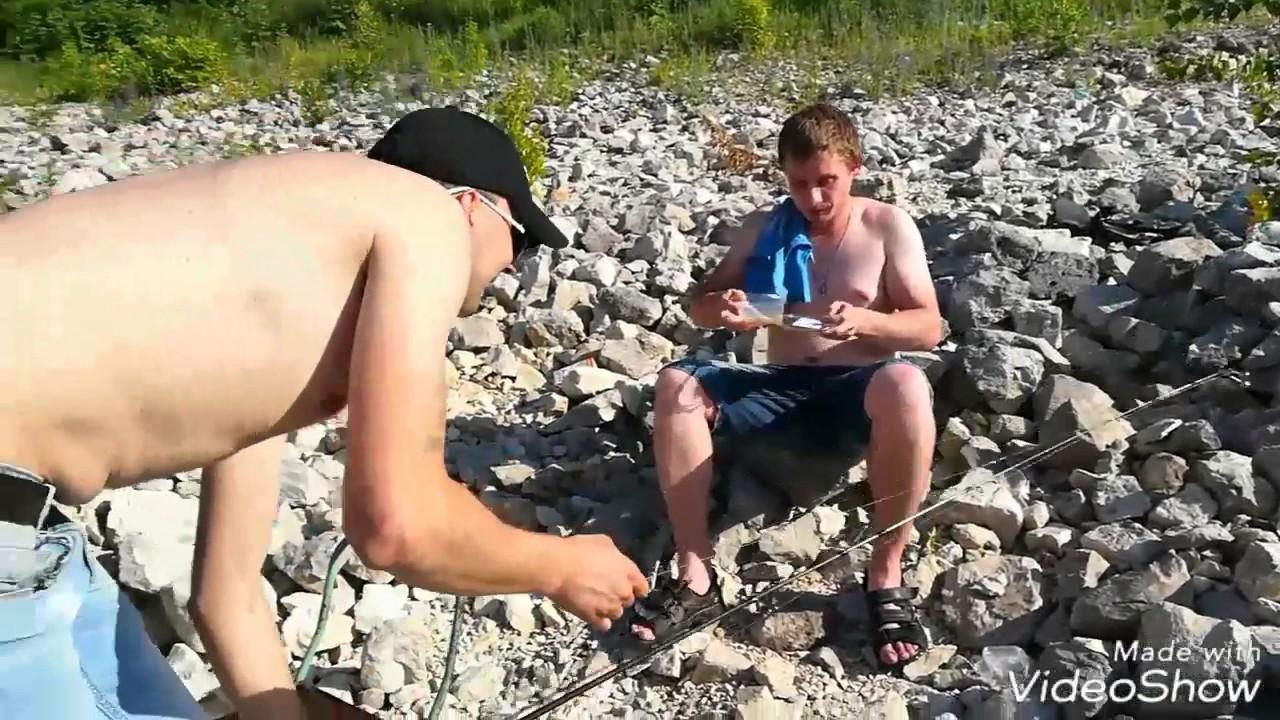 Рыбалка в близи Жигулевской ГЭС.
