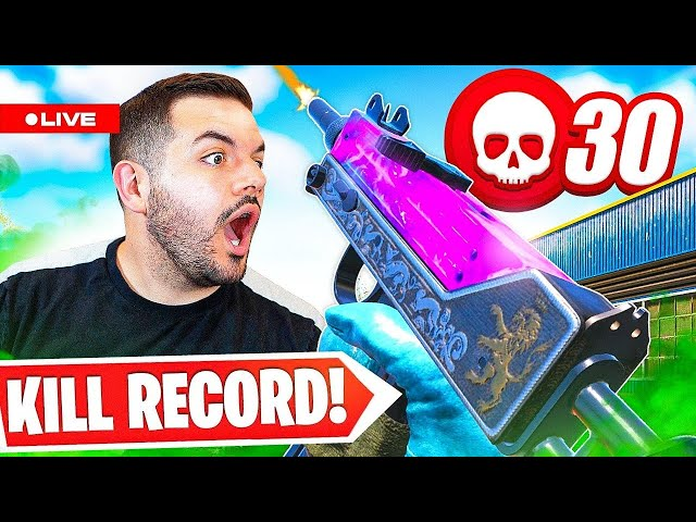 🔴NEW MAP SOON?! Warzone Kill Record or you win $500...WITH Nickmercs/Cloakzy!