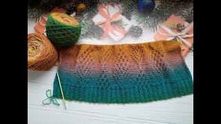"""Джемпер (свитер) из """"Дундаги"""". Часть 1. Обзор. - Видео от Вязание от Светланы Заец. Phalaenopsis."""