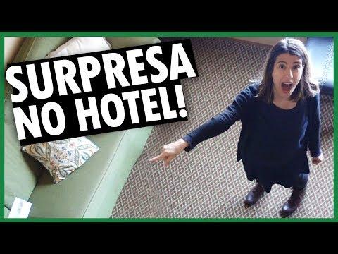 SURPRESA NO HOTEL e SEGREDO DO QUEBRA-NOZES nos ESTADOS UNIDOS - DIÁRIO DE VIAGEM - Vlog Ep.121