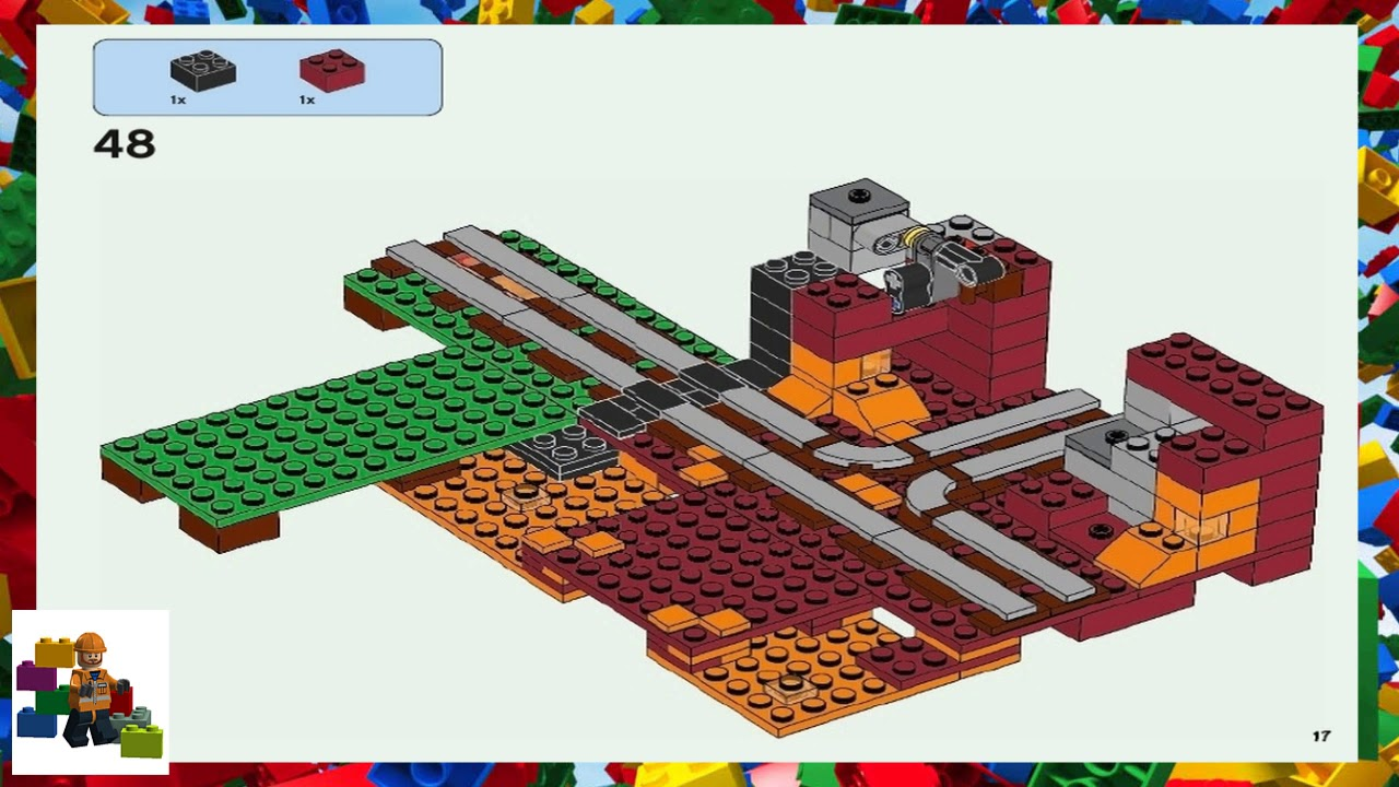 LEGO Instructions - Minecraft - 21143 - The Nether Portal (Book 2)