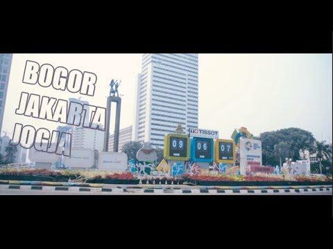 Bogor Jakarta Jogja Travel Vlog 1 Youtube