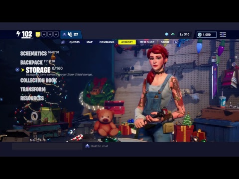 Frostnite Fortnite Save The World - Storage Has Gone
