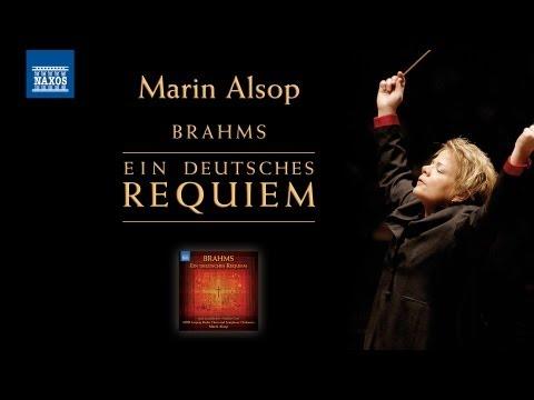BRAHMS: Ein Deutsches Requiem (Marin Alsop) [Naxos 8.572996]