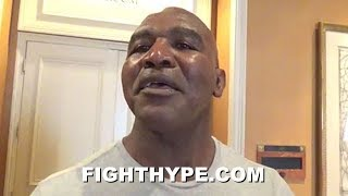 EVANDER HOLYFIELD CHECKS CRITICS OF DEONTAY WILDER; EXPLAINS IMPORTANCE OF HIS CONFIDENCE