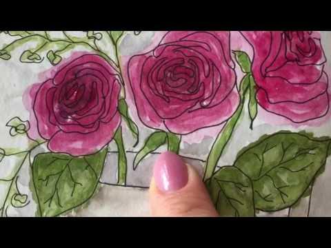 Flip Through: Stillman & Birn Floral/Plant Sketchbook Part 1