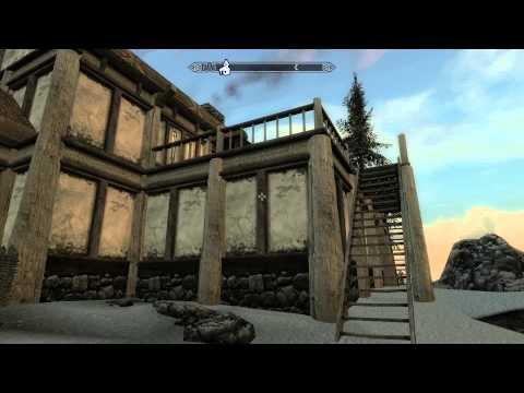 Skyrim Hearthfire - Обзор дома для война